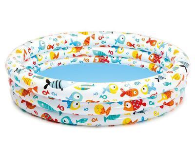 Bazén nafukovací Intex 132x28, holiday - 1