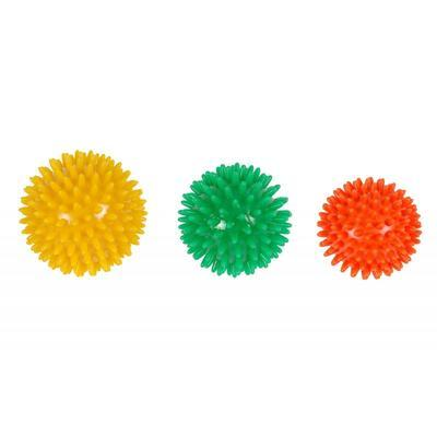Ježek masážní 5cm, oranžová, 5cm, oranžová
