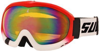 Brýle lyžařské Sulov Free-1, červená-bílá