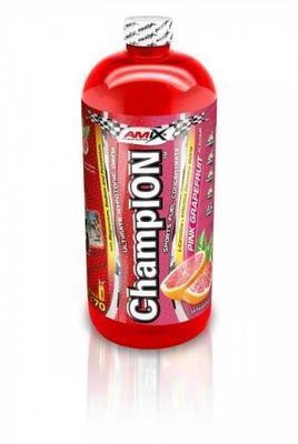 Iontový nápoj Amix Champion 1 l růžový grep