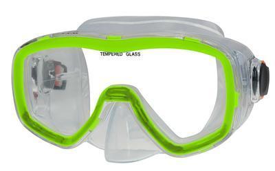 Brýle potápěčské Sulov, SENIOR 141P, zelená