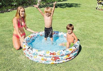 Bazén nafukovací Intex 132x28, holiday - 2