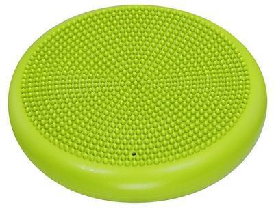 Balanční masážní polštářek LIFEFIT BALANCE CUSHION 33cm, světle zelený - 2
