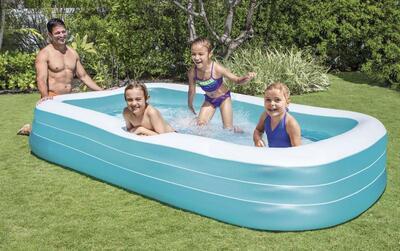 Bazén nafukovací Intex obdelník family 305x183x56 58484 - 2