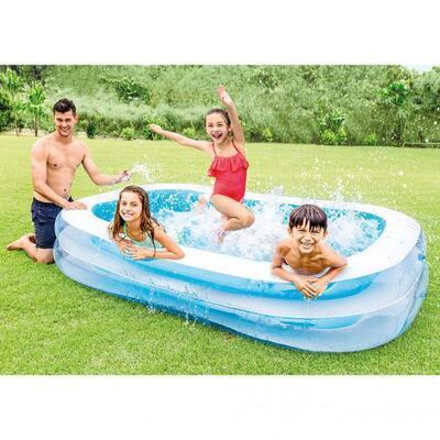 Bazén nafukovací Intex obdelník family 262x175x56 56483 - 2