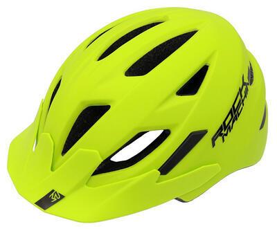 přilba/helma RM Fly zelená/černá vel. S/M 52-56cm - 2