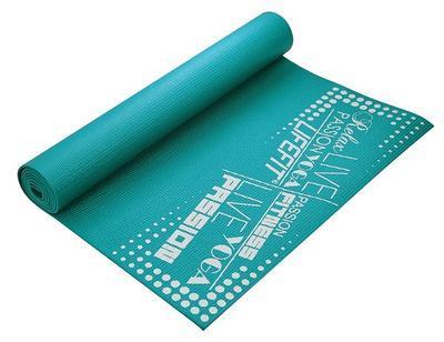 Yoga mat Lifefit 173x61cm 0,4cm modrá - 2