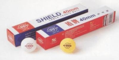 Míčky stolní tenis Schield 101, 40mm - 2