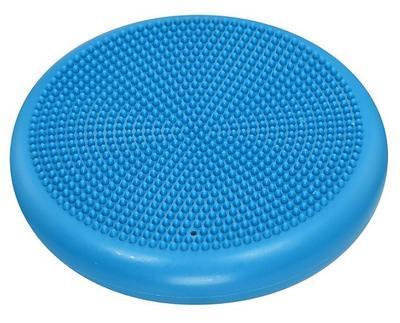 Balanční masážní polštářek LIFEFIT BALANCE CUSHION 33cm, světle modrý - 2