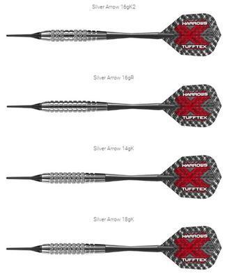 Šipky Harrows Silver Arrows 16g - 2