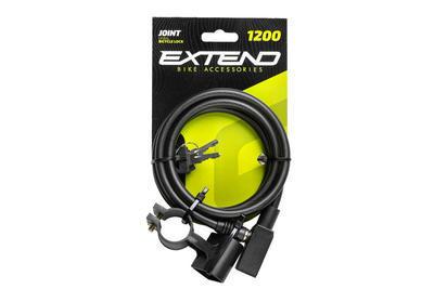 Zámek na kolo Extend Joint 120cm/8mm - 2