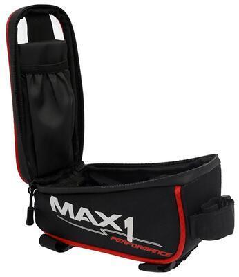 brašna MAX1 Mobile One červeno/černá - 3