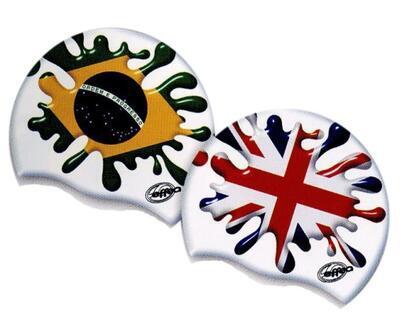 Čepice plavecká Effea vlajka - 3