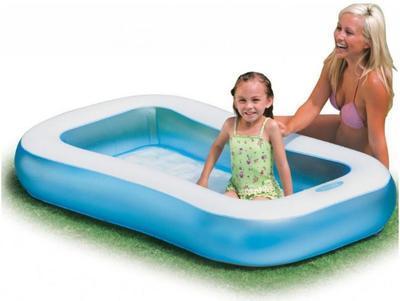 Bazén nafukovací Intex 166x100x28 - 3